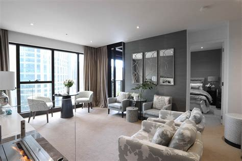 Apartment Interior : Sophisticated Apartment In Melbourne's Prima Pearl