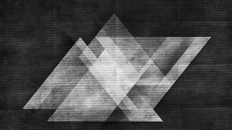 Abstract Black Triangle Wallpaper by 35 Triangle Wallpapers For Your Android