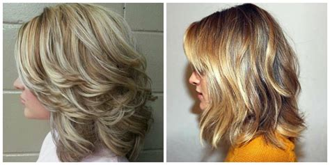 layered hair   photosvideos top stylish layered