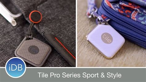 tile pro series is a worthy upgrade with 2 designs sport