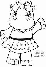 Coloring Hippos Hippo Olga Hipopotamo Dibujos Colorier Cool Sheets Colorear Colorir Moldes Nice Kolorowanki Hippopotamus Crafts Needle Hipopotamos Pattern Odwiedź sketch template