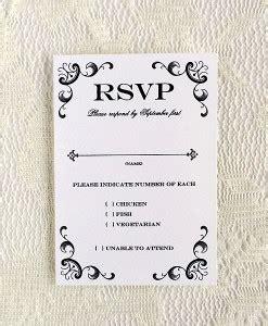 free rsvp template rsvp cards print