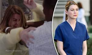 Grey's Anatomy Spoiler - Meredith Grey violently attacked ...