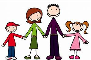 Family Word Clipart Cartoon Image - Images, Photos, Pictures