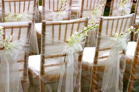 décoration chaise plastique mariage décoration de chaise mariage le mariage