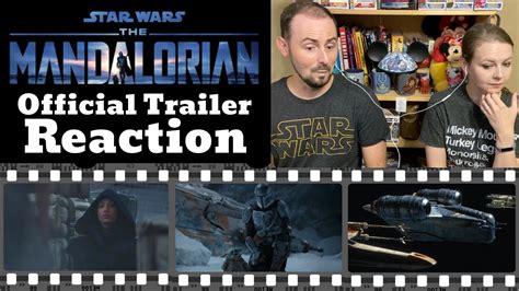 The Mandalorian Season 2 | Official Trailer REACTION ...