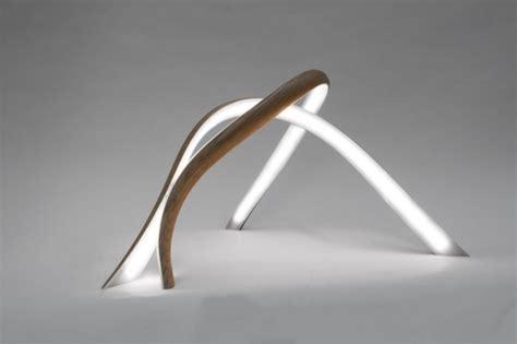skulpturale holz lampen von john procario bis zur