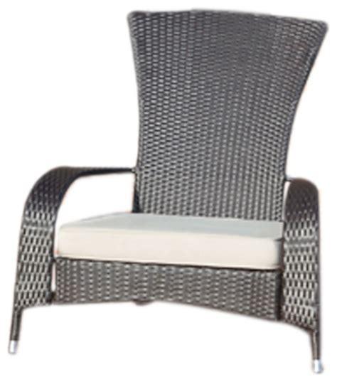 wt living patio decor coconino wicker chair contemporary