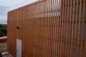 Bardage Bois Claire Voie : bardage en bois douglas claire voie loire eco bois ~ Dailycaller-alerts.com Idées de Décoration