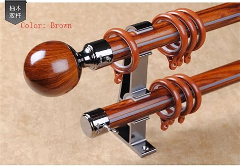 popular wooden curtain pole buy cheap wooden curtain pole