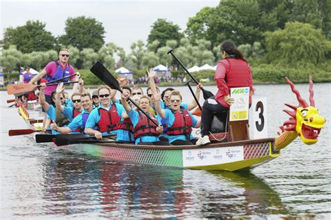 Dragon Boat Racing Companies by Local Companies Get Fired Up For The Milton Keynes Dragon