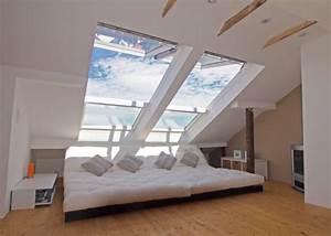Bett Mit Dach : wohnzimmer 39 chillen unterm dach 39 gr nderzeitschatztruhe zimmerschau ~ Frokenaadalensverden.com Haus und Dekorationen