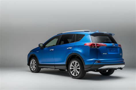toyota hybrid 2016 toyota rav4 hybrid brings higher mileage refreshed