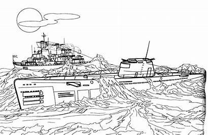 Coloring Submarine Pages