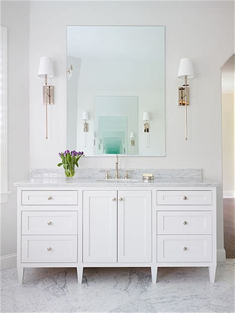 bathroom mirror and lighting ideas htons style bathrooms inspired space the builder 39 s