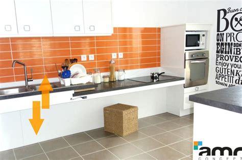 hauteur id饌le plan de travail cuisine plan de travail 1m de large 28 images agencement int 233 rieur relooker logement empreinte bois comment choisir plan de travail de cuisine