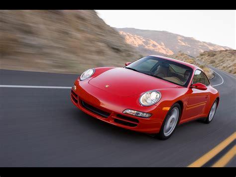 2007 Porsche 911 Carrera 4 Front Angle Speed Tilt