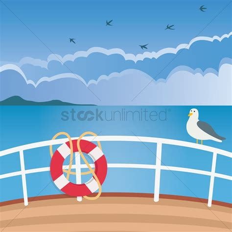 Boat Deck Clipart by Ship Deck Vector Image 1263678 Stockunlimited