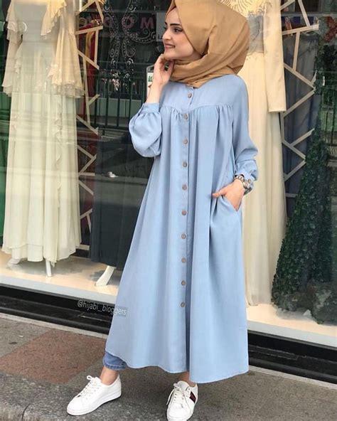 gamis syari blouse   hijab fashion hijab outfit