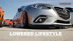Mazda 3 Sedan SUPER Lowered Lifestyle Speed Junkies 2016
