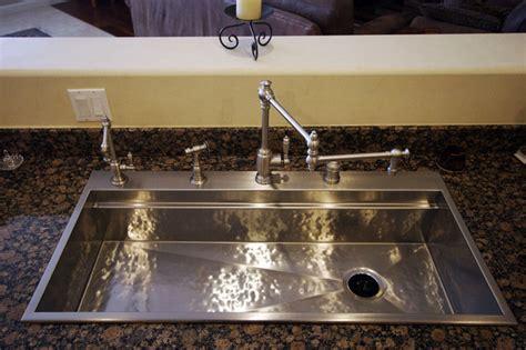 wide kitchen sink 25 creative corner kitchen sink design ideas 1102