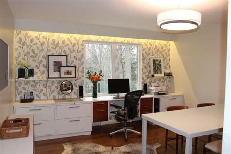 mid century modern home office designs decorating