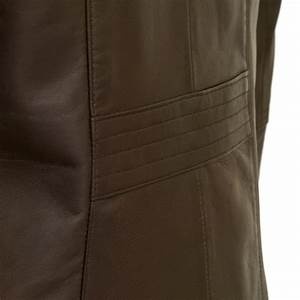 Angie: Women's Brown Leather Jacket | Hidepark Leather