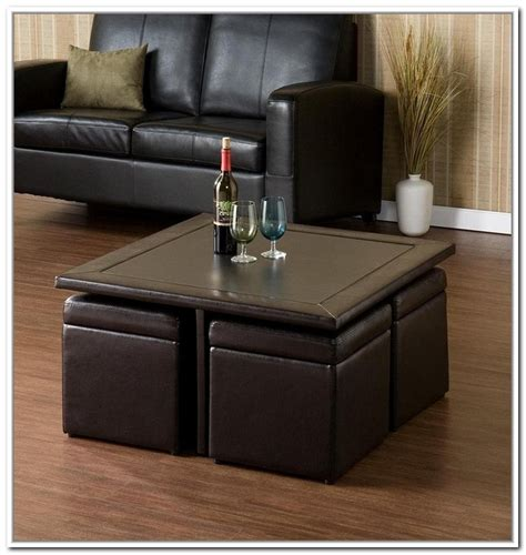 Measure the space you intend beautiful and functional collection of 36 top brown leather ottoman coffee tables. 40+ Brown Leather Ottoman Coffee Tables With Storages | Coffee Table Ideas