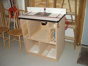 router table plans : Router Tables for Your Work – Home