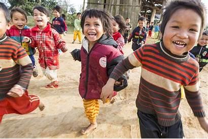 Children Around Celebrations Sponsored Plan International
