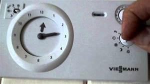 Viessmann Uta-rf Room Stat Operating Instructions
