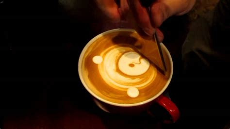 """Experiment with deviantart's own digital drawing tools. Latte Art """"Teddy Bear"""" at Glazer's Coffee by barista Xiao ..."""