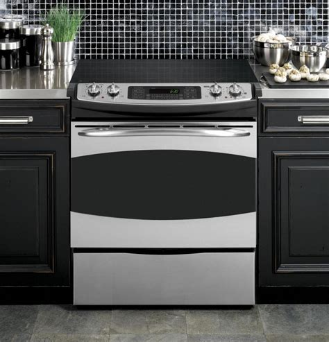 ge profile psspss    electric range  cu ft preciseair convection oven stainles