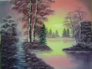 Antonie U0026 39 S Malerei  Landschaften Nach Bob Ross