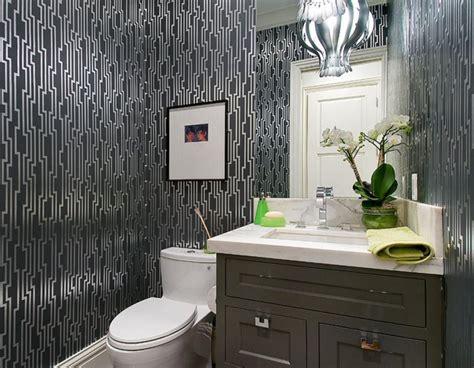 Wallpaper Bathroom Ideas by Floral Royal Bathroom Wallpaper Ideas On Small White