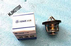 Thermostat For Chinese Chery Qq    Qq3 1 1l 372 472 Engine