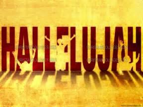 Free Hallelujah PowerPoint Background