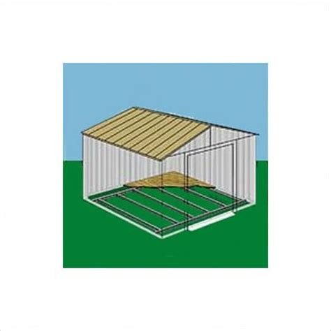 arrow sheds fb5465 floor frame kit for 5 x4 6 x5 arrow