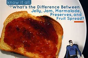 What U2019s The Difference Between Jelly  Jam  Marmalade