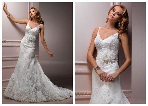 Elegant V-neck Wedding Dresses