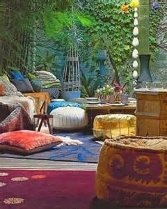 Home Office Interior Design Ideas 37 Beautiful Bohemian Patio Designs Digsdigs