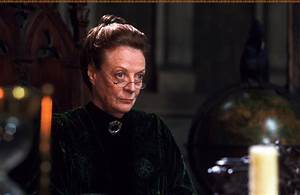 Amazing Maggie Smith as Professor McGonagall in Harry ...