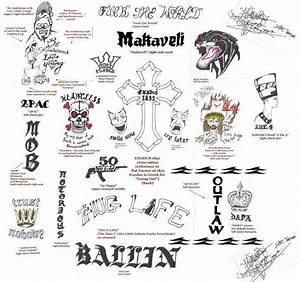 2Pac – 2Pac's Tattoos Lyrics | Genius Lyrics