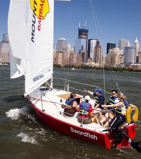 J Boats Sailing School by Our Fast Teaching Boats Manhattan Sailing School