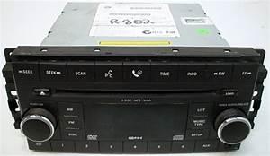 2008 Dodge Durango Factory Stereo 6 Disc Changer Cd Dvd