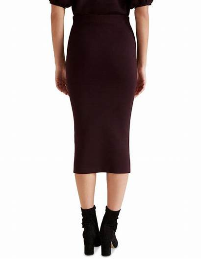 Crepe Skirt Heritage Pencil Seed Myer