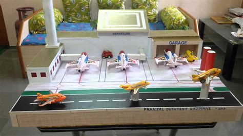 airport project by pranjal - YouTube