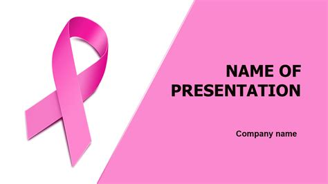 Download Free Women Breast Health Powerpoint Theme For