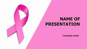 breast cancer ppt template - download free women breast health powerpoint theme for