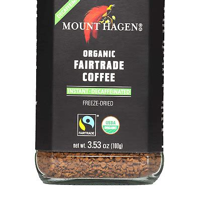 Who knew that the actor ike barinholtz would turn out to be my lifestyle guru? Mount Hagen Organic Freeze Dried Instant Decaf Coffee, 3.53 oz Organic FairTr... | eBay